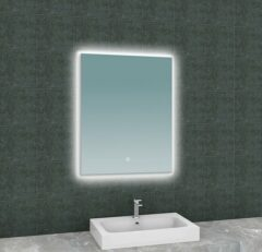 Wiesbaden Soul spiegel met led verlichting 60x80 cm
