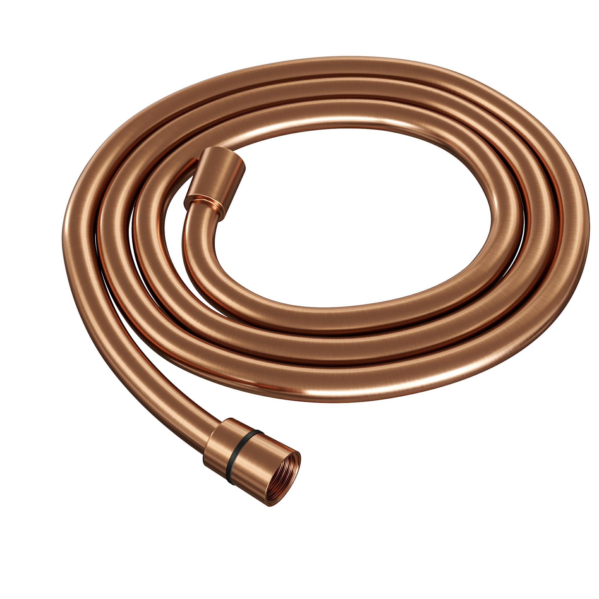 Brauer Copper Edition doucheslang glad 1500mm koperkleur