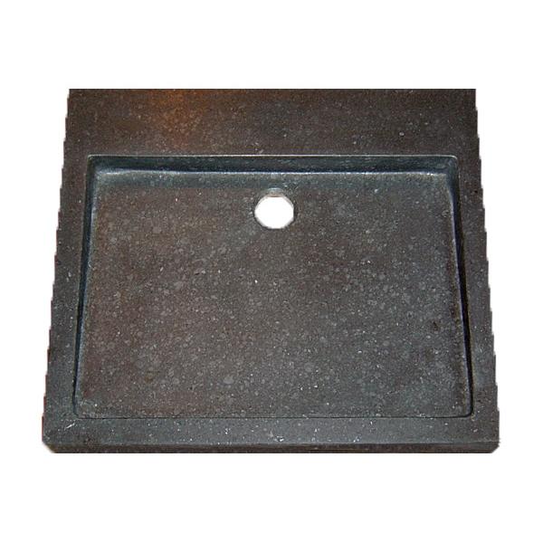 Best Design opbouw wastafel zonder kraangat 50x45x6 Limestone