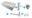 Wiesbaden one pack Mini-Rhea fontein links compleet 36x18 wit