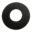Wiesbaden Caral losse rozet voor metro toiletkraan mat zwart